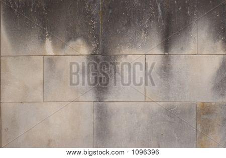 Smoked Cement Bricks Grunge Texture