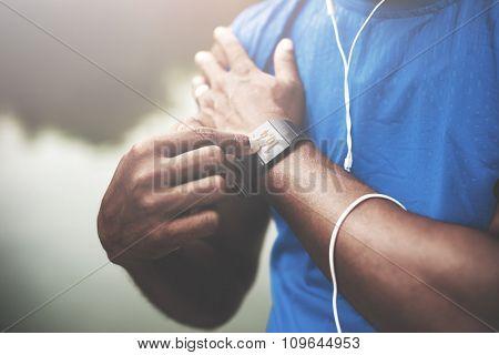 Sportman Sportwoman Podcast Playlist Athlete Concept