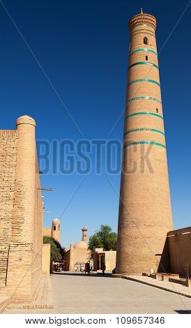 Minaret In Khiva - Uzbekistan