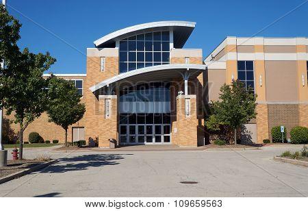 Door of the Joliet Catholic Academy