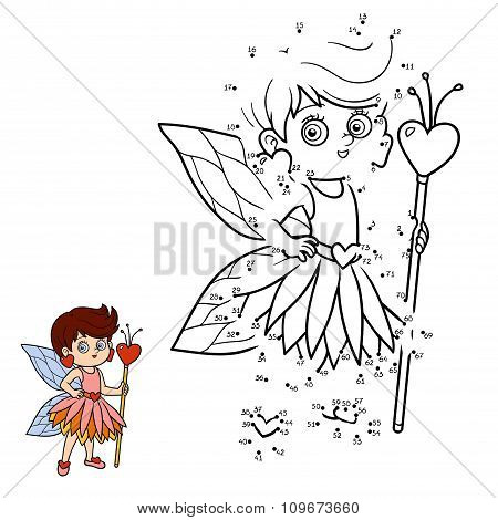 Numbers Game For Children: Little Fairy