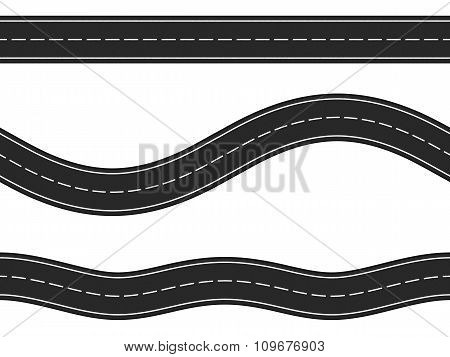 Seamless Horizontal Roads