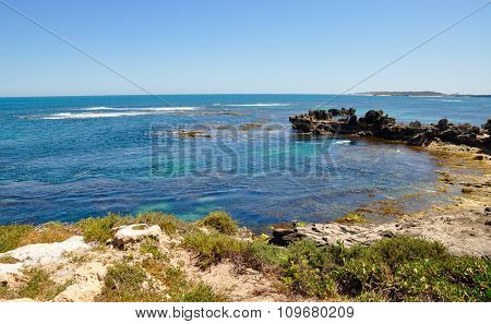 Curved Beach: Indian Ocean, Western Australia