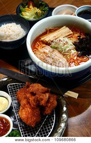 Japanese food meal