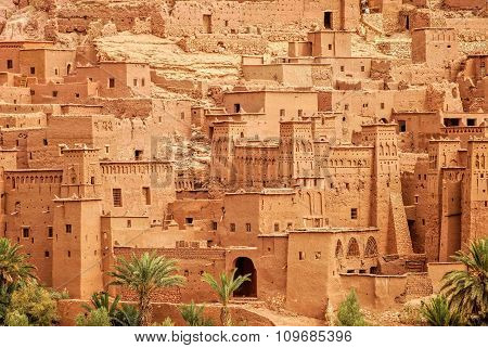 Clay Kasbah Ait Benhaddou, Morocco