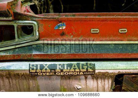 Bumper Sticker On Dodge