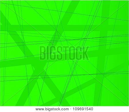 Green Modern Background