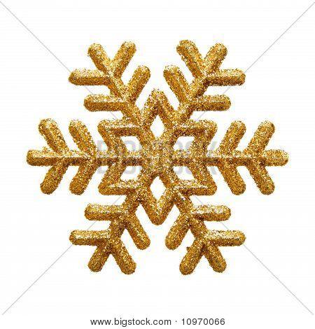 golden snowflake