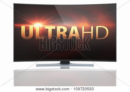 Ultra hd Smart Tv with Curved Screen