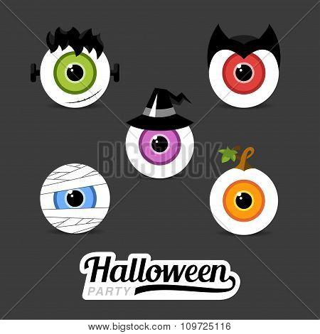 Icons Eye Hero Halloween