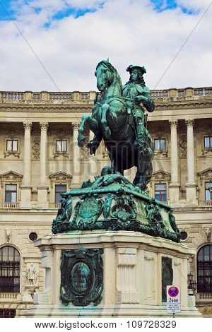 Prince Eugene of Savoy monument