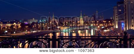 Kremlin Panorama, Night View