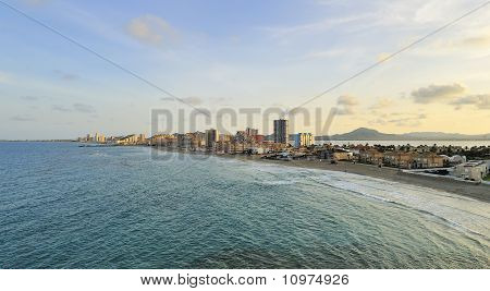 View Of La Manga Del Mar Menor