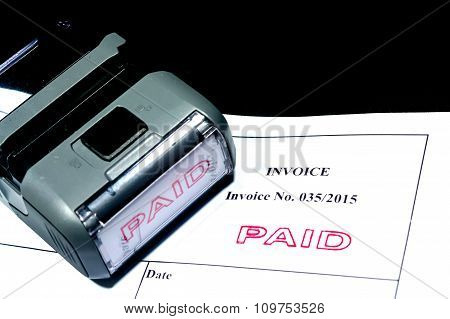 paid stamp