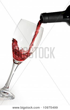 Glass And Wine