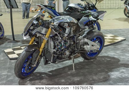 Yamaha Motorcycle Cut In Half