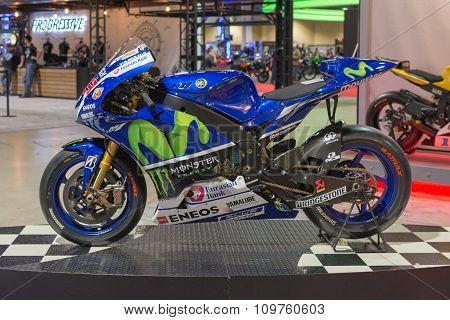 Yamaha Yzr-m1 Movistar Team