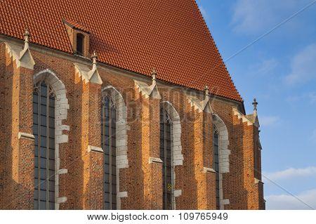 Poland, Kraków, Kazimierz, East End Of Corpus Christi Gothic Church