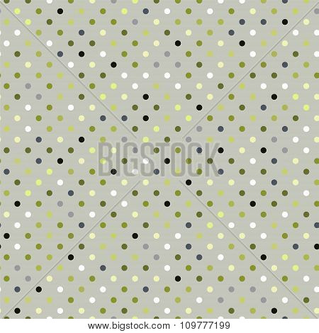 Abstract Seamless Dotted Background