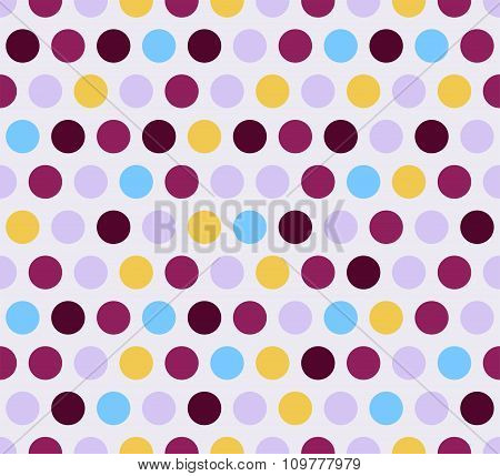 Vector Abstract Colorful Seamless Pattern