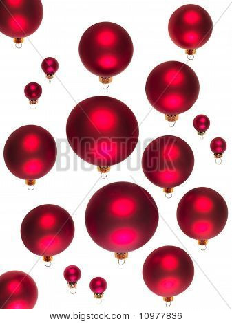Red Balls For Christmas Trees