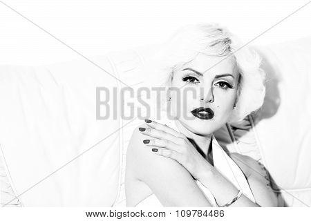 Sexy Blonde Indoor