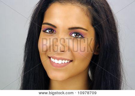 Beautiful Teen Latina Headshot