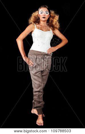 A Teen Female Model