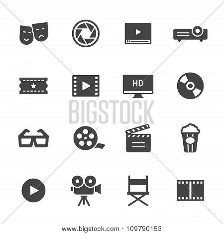 Cinema and Movie Icons