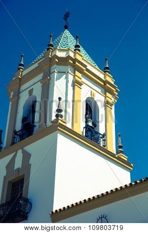 Ronda, Andalucia, Spain: Plaza Del Socorro Church