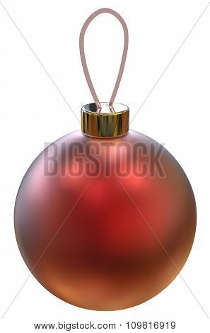 Vector Christmas Ball.