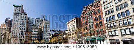 Union Square Park In Manhattan, New York City