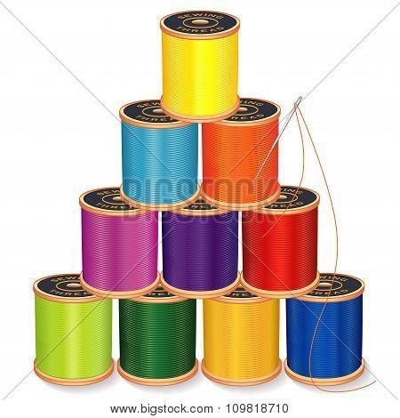 Needle And Threads Pyramid