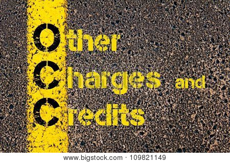 Accounting Business Acronym Occ Other Charges And Credits
