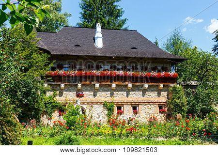 The Moldovita Monastery Is A Romanian Orthodox Monastery Situated In The Commune Of Vatra Moldovitei