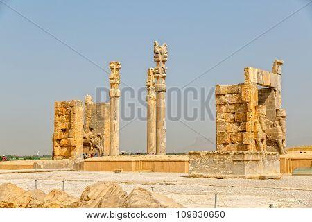 Persepolis gate beautiful view