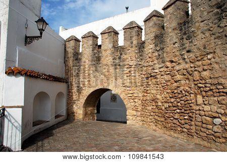 Castle wall, Vejer de la Frontera.