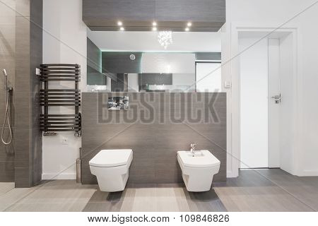 Expensive Modern Bathroom