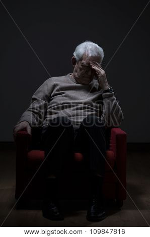 Elder Man Depression