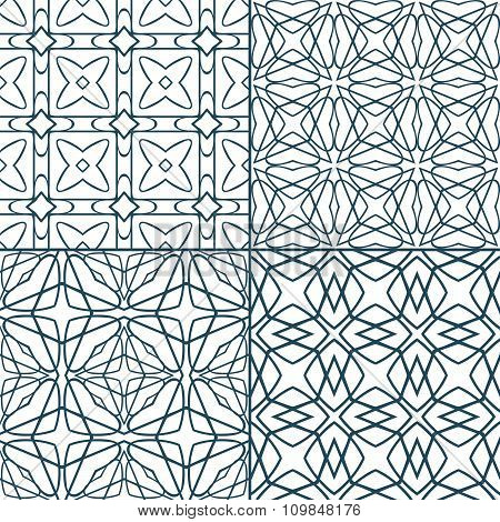 Geometric seamless patterns