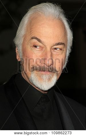 LOS ANGELES - FEB 15:  Rick Baker at the Make-Up Artists And Hair Stylists Guild Awards 2014 at the Paramount Theater on February 15, 2014 in Los Angeles, CA