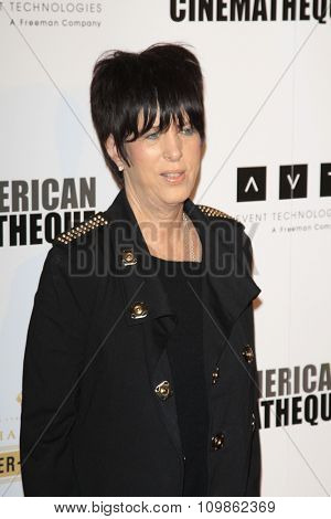 LOS ANGELES - DEC 12:  Diane Warren at the 27th American Cinematheque Award at the Beverly Hilton Hotel on December 12, 2013 in Beverly Hills, CA