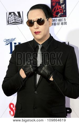 LOS ANGELES - SEP 6:  Marilyn Manson at the