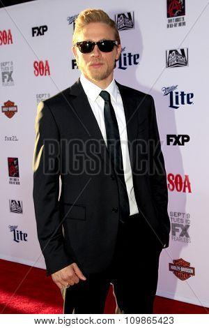 LOS ANGELES - SEP 6:  Charlie Hunnam at the