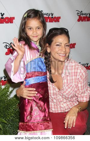 LOS ANGELES - OCT 18:  Luna Katich, Constance Marie at the