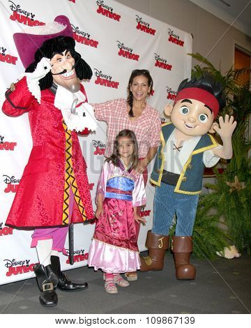 LOS ANGELES - OCT 18:  Captain Hook, Luna Katich, Constance Marie, Jake at the