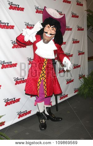 LOS ANGELES - OCT 18:  Captain Hook at the