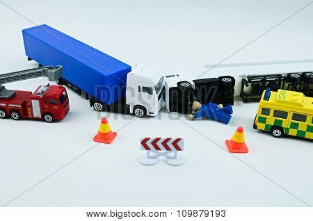 Road Accident Crash - Fake..