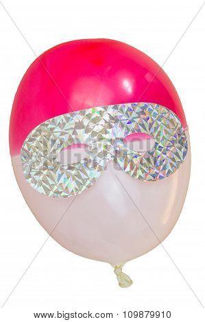 Eye Mask On Party Baloon
