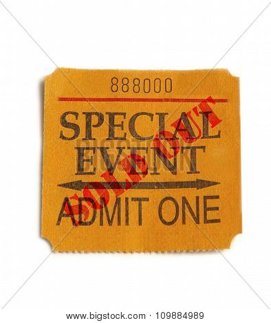 Sold Out Special Event